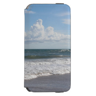Replace My Beautiful Beach Photo & Use Your Own iPhone 6/6s Wallet Case