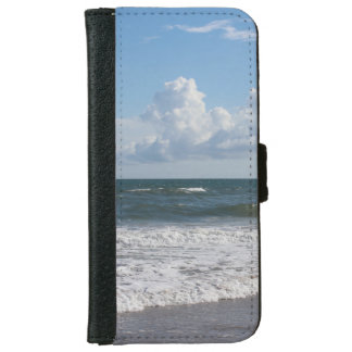 Replace My Beautiful Beach Photo & Use Your Own Wallet Phone Case For iPhone 6/6s