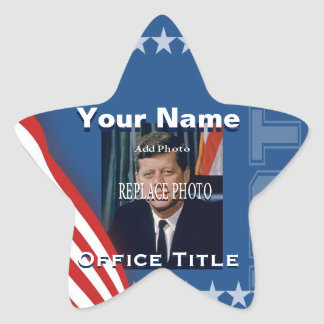Replace Photo | Campaign Template Star Star Sticker