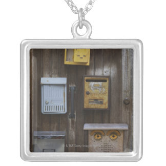 Replacement and renewal square pendant necklace