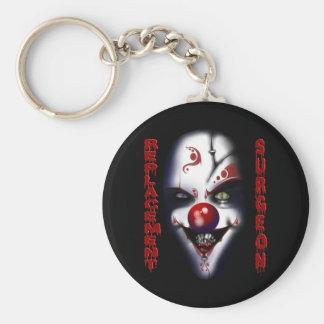Replacement Surgeon - Evil Clown Basic Round Button Keychain