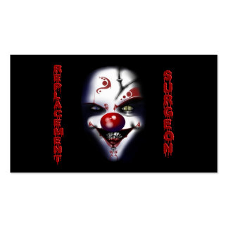 Replacement Surgeon - Evil Clown Business Card