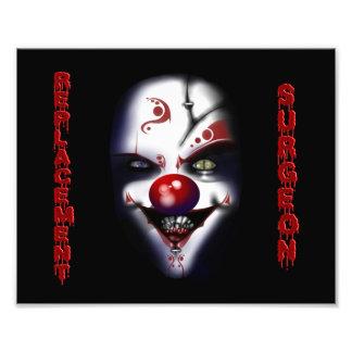 Replacement Surgeon - Evil Clown Photo Print