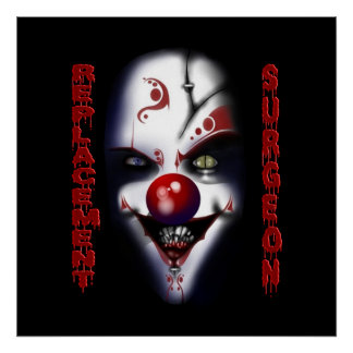Replacement Surgeon - Evil Clown Poster