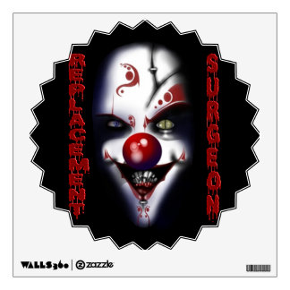 Replacement Surgeon - Evil Clown Wall Sticker