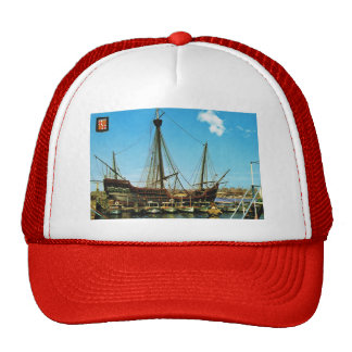 "Replica Caravel, ""Santa Maria"" Columbus flagship Trucker Hat"