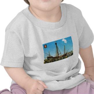 Replica Caravel Santa Maria Columbus flagship Tshirts
