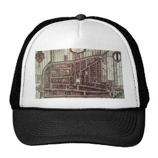 Replica city map of Delft 1649 Trucker Hat