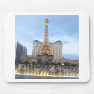 Replica EFFEL Tower VEGAS: Resorts Casinos Hotels Mouse Pads