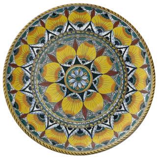 Replica Italian Pottery Dinner plate
