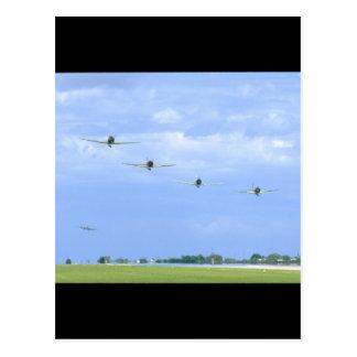 Replica Japanese Warplanes_WWII Planes Postcard