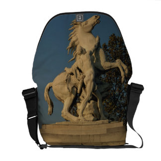 Replica of one of the two 'Marly Horses' originall Courier Bag