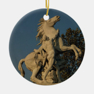Replica of one of the two 'Marly Horses' originall Ornament