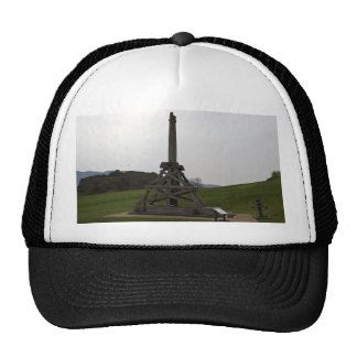 Replica of wooden trebuchet in Scotland Hat