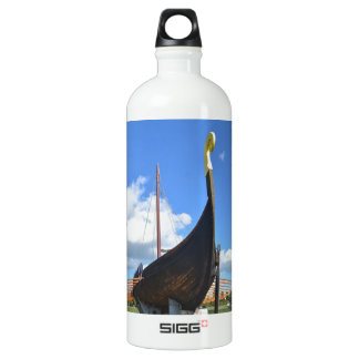 Replica Viking Longship Aluminum Water Bottle