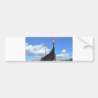 Replica Viking Longship Bumper Sticker