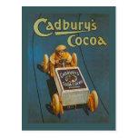 Replica Vintage advertising, Cadbury's Cocoa Post Card