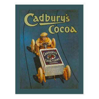 Replica Vintage advertising, Cadbury's Cocoa Postcard