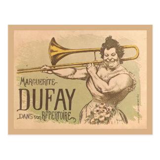Replica Vintage advertising, Margeurite Dufay Postcard