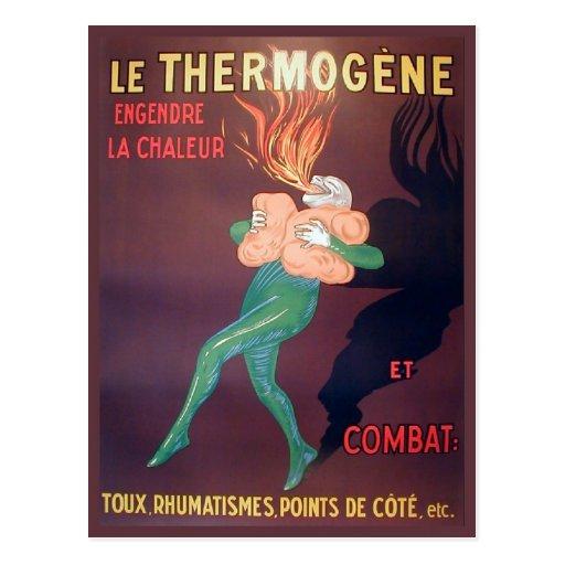 Replica Vintage advertising, Thermogene Postcards