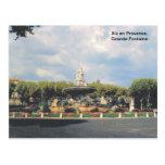 Replica vintage, Aix en Provence, Grande Fontaine Post Cards