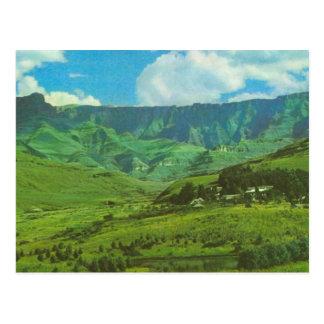 Replica  Vintage Basutuland, Great Horse  Trail Postcard
