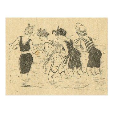 Franceimages Replica Vintage, Beach party Postcard