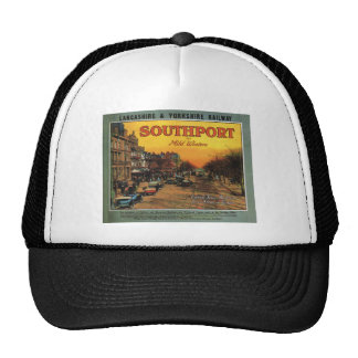 Replica Vintage British Railway poster Trucker Hat