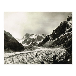 Replica Vintage France Chamonisx, Mont Blanc Postcard