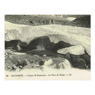 Replica Vintage France Gavarnie Le Pont de Neige Postcard