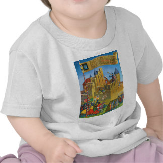 Replica Vintage France Medieval Carcassonne Tee Shirts