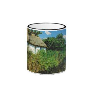 Replica Vintage France, Vendee, maison de campagne Ringer Mug