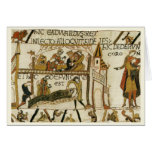 Replica Vintage image, Bayeaux Tapestry Card