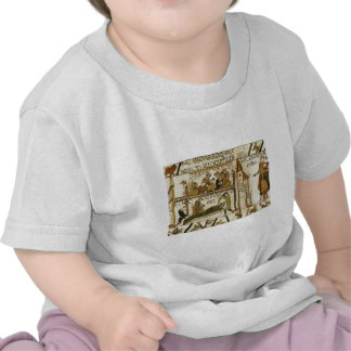 Replica Vintage image Bayeaux Tapestry T Shirts