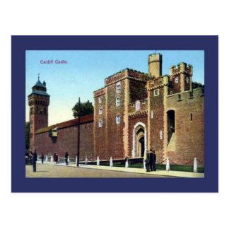 Replica Vintage Image, Cardiff Castle Postcard