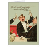 Replica Vintage image ,Jolly good fellow! Greeting Card