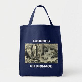 Replica Vintage image Lourdes, 1895 Pilgrimage Bags