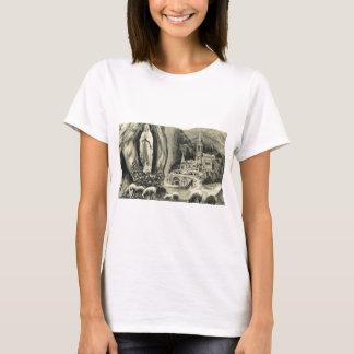 Replica Vintage image Lourdes, 1895 Pilgrimage T-Shirt