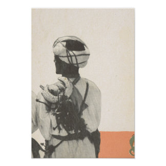 Replica vintage image, Marrakesh, Maroc Poster