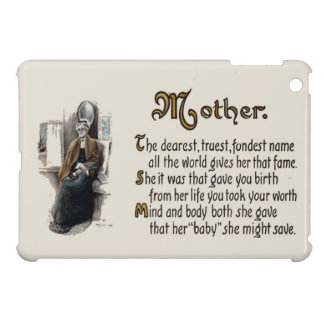 Replica Vintage image, Mother, Mother's Day Case For The iPad Mini