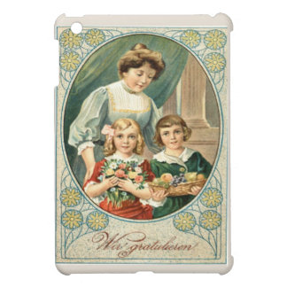 Replica Vintage image, Mother's Day, Cover For The iPad Mini