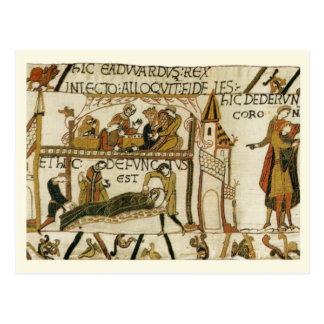 Replica Vintage postcard, Bayeaux Tapestry Postcard