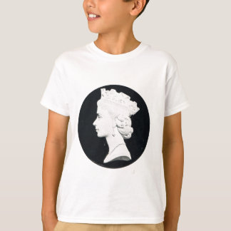 Replica Vintage postcard, Queen Elizabeth II T-Shirt