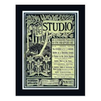 Replica Vintage postcard, The Studio, cover Postcard