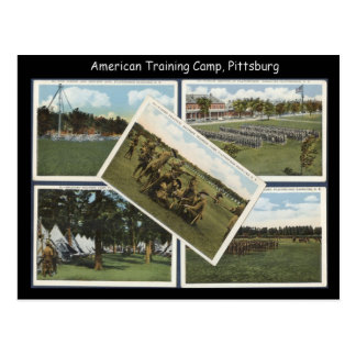 Replica Vintage Training camp Pittsburg Post Cards