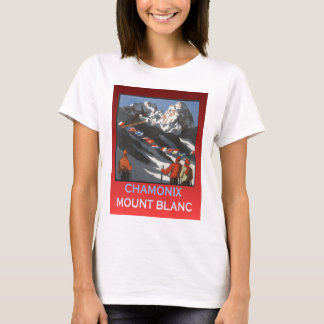 Replica Vintage winter sports, ski poster T-Shirt