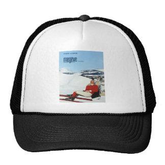 Replica Vintage winter sports, ski poster Trucker Hat