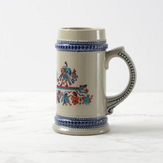 replicate moche art coffee mugs