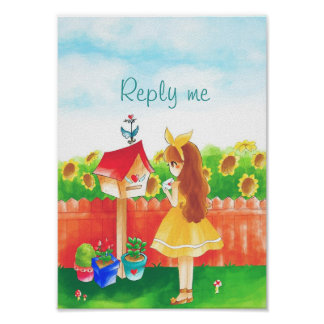 Reply me poster