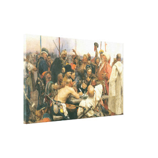 Reply of the Cossacks Canvas Print